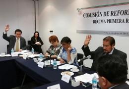 Reunión Comisión de la Reforma Agraria
