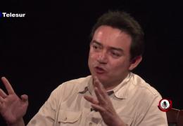 Entrevista en Telesur con Manuel Triay