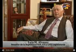 Medalla Belisario Domínguez a Luis H. Álvarez