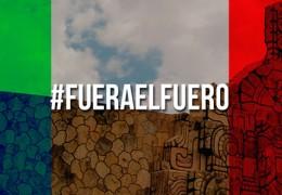 No más impunidad: exigimos #FueraElFuero